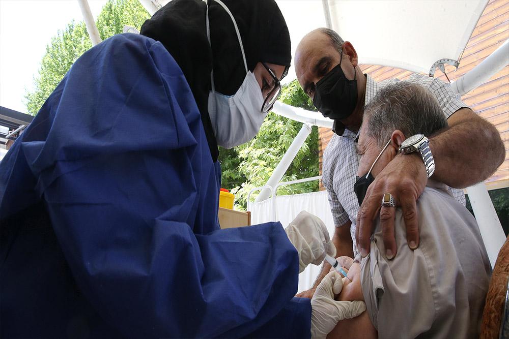 آغاز بکار اولین مرکز تجمیعی واکسیناسیون کرونا